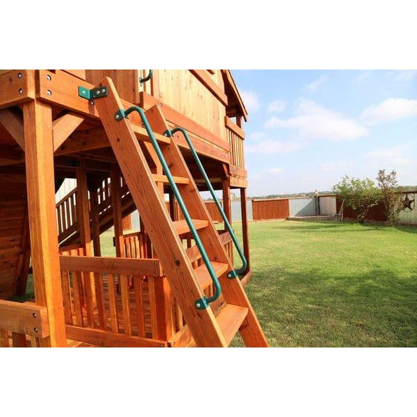 "Handle Rail for Children's Playset (Long- 42"" each) - WePlayAlot"