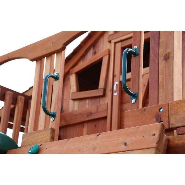 "OUT OF STOCK -Handle Rails for Children's Swing Sets (short- 14"" by the pair) - WePlayAlot"