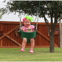 Infant Swing - Full Bucket Swing -with Chain - WePlayAlot