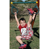 Kids Trapeze Bar with D-Rings and Chain - WePlayAlot