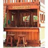 Lemonade Stand Sign - Redwood - WePlayAlot