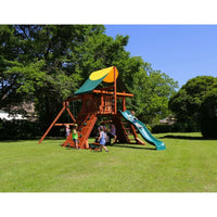 Rustler Swing Set - Playset Tarp Roof - WePlayAlot