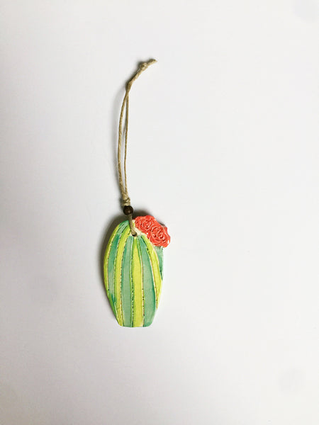 Line & Dot | Peyote Cactus Ornaments