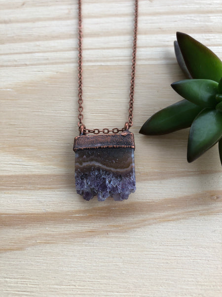 Hawk House | Amethyst Necklace