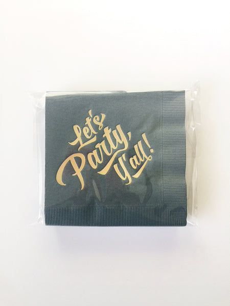 Breathless Paper Co | Let's Party y'all!