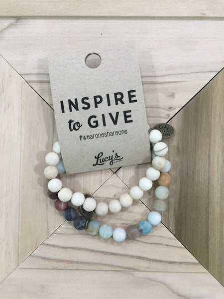 Lucy Inspired | Inspired to Give Bracelet Set
