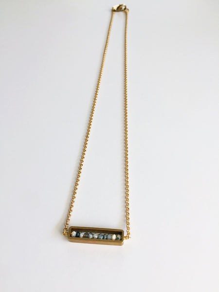 Larissa Loden | Abacus Necklace Dendrite Opal
