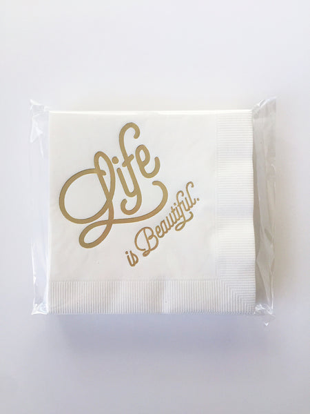 Breathless Paper Co | Life is Beautiful
