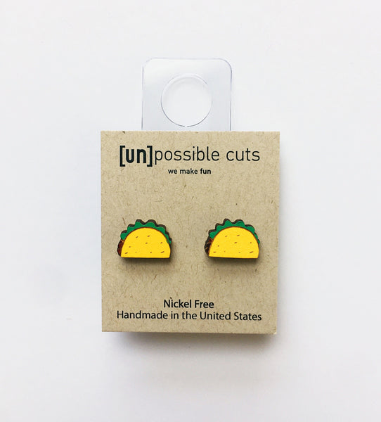 [un]possible cuts | Taco Earrings