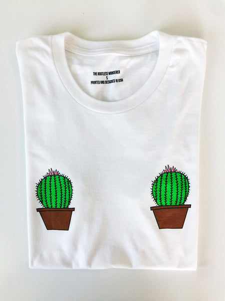 The Rootless Wanderer | Cactus Tee Shirt
