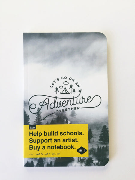 Denik Notebooks | Let go on an Adventure