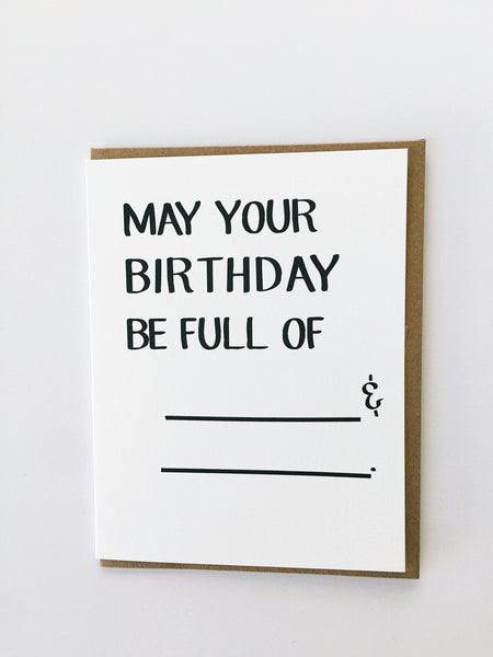 Mayd this way | May your birthday