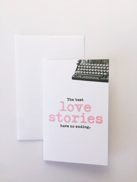 Breathless Paper Co | The best love stories have no ending