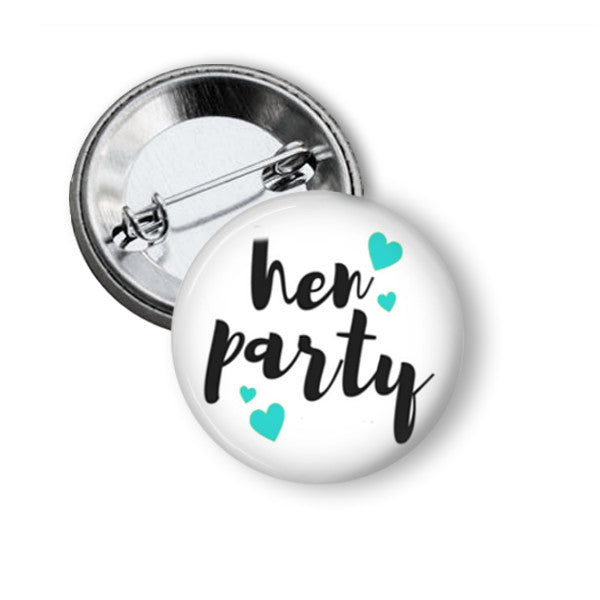 Hen party button badges