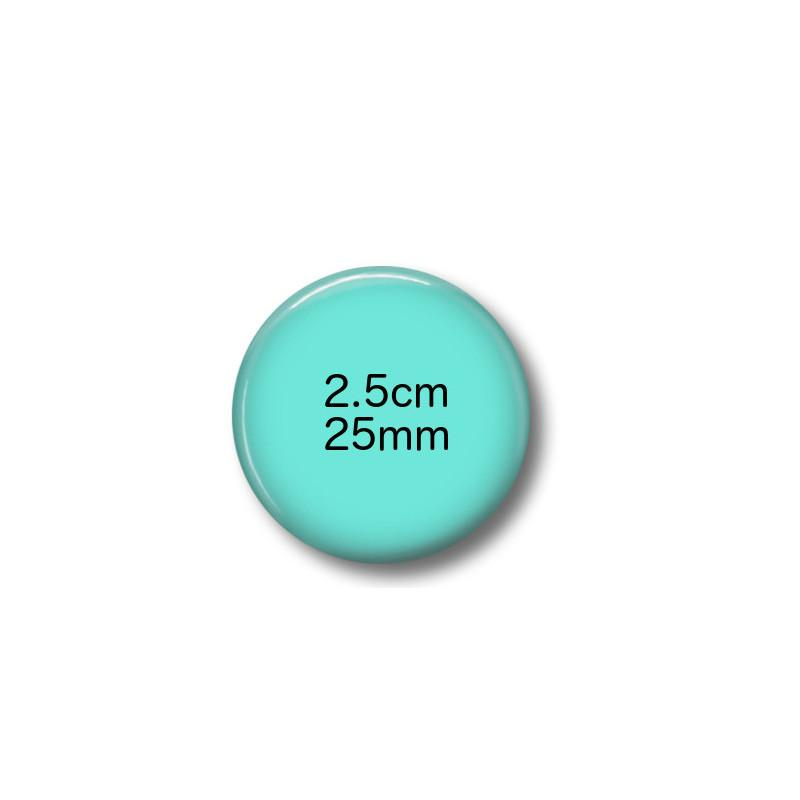 Custom fridge magnets 2.5 cm round