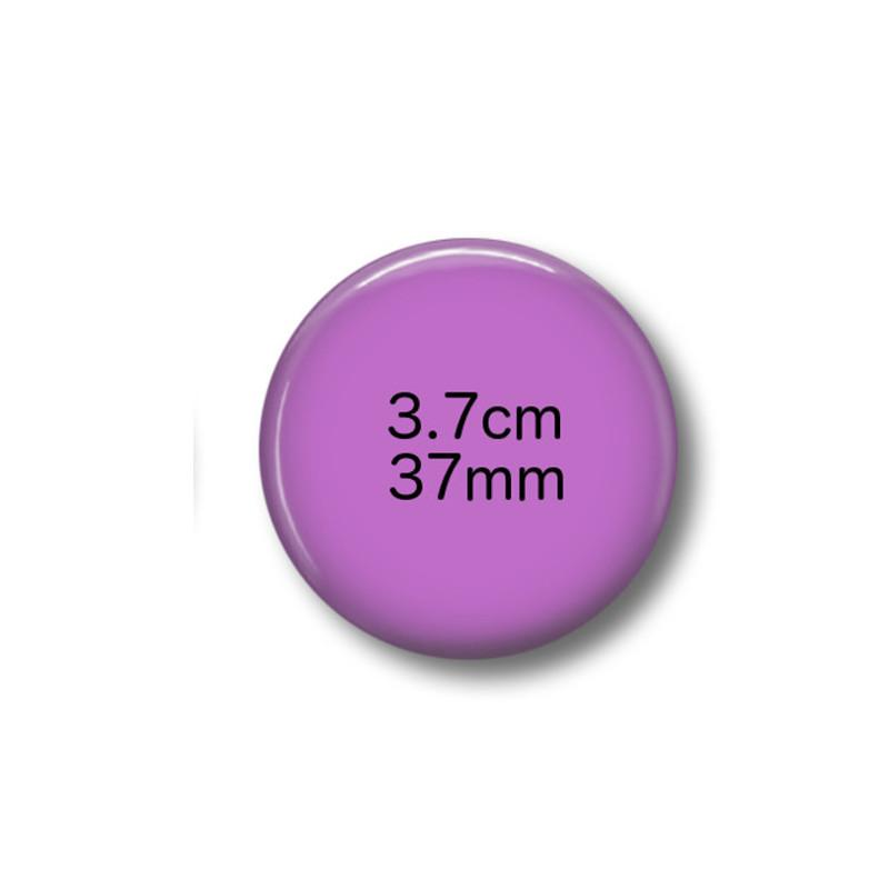 Custom magnets 3.7 cm round - badge-bliss