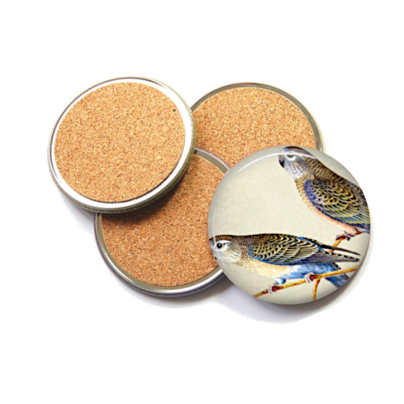 Australian Bird coaster set