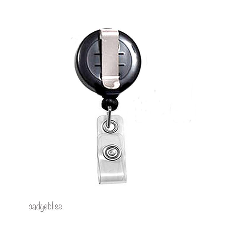 Happy ID badge reel, ID holder - badge-bliss