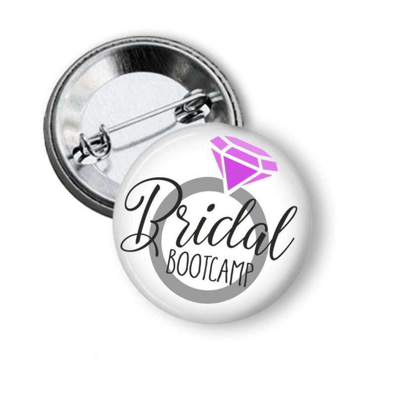 Bridal Bootcamp hens party badges