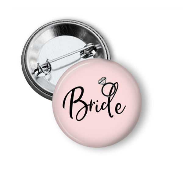 Bride Tribe hen party badge - badge-bliss