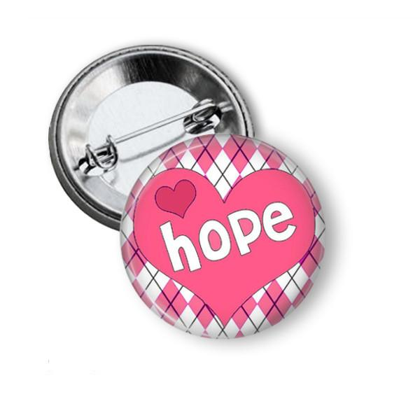Breast cancer awareness badge - badge-bliss