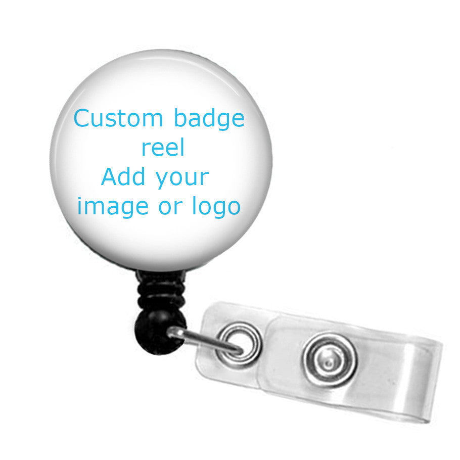Custom badge reel