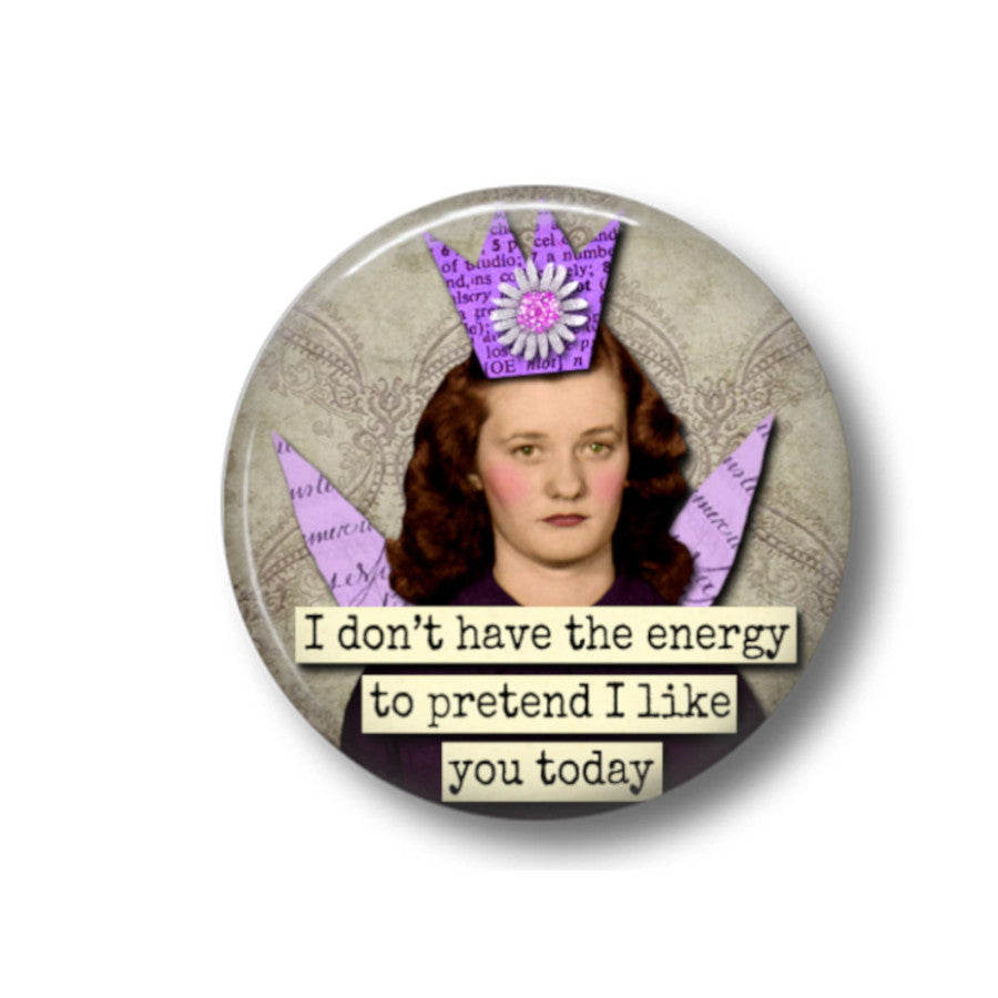 Energy fridge magnet