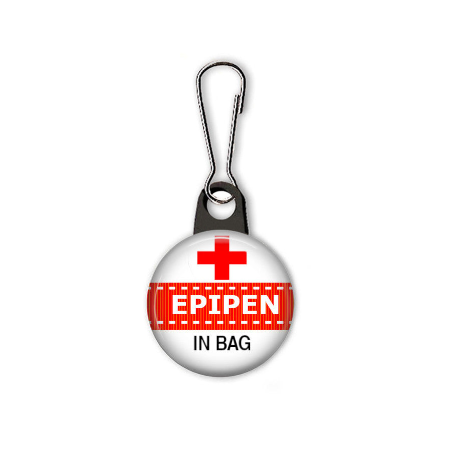 Medical alert bag tag