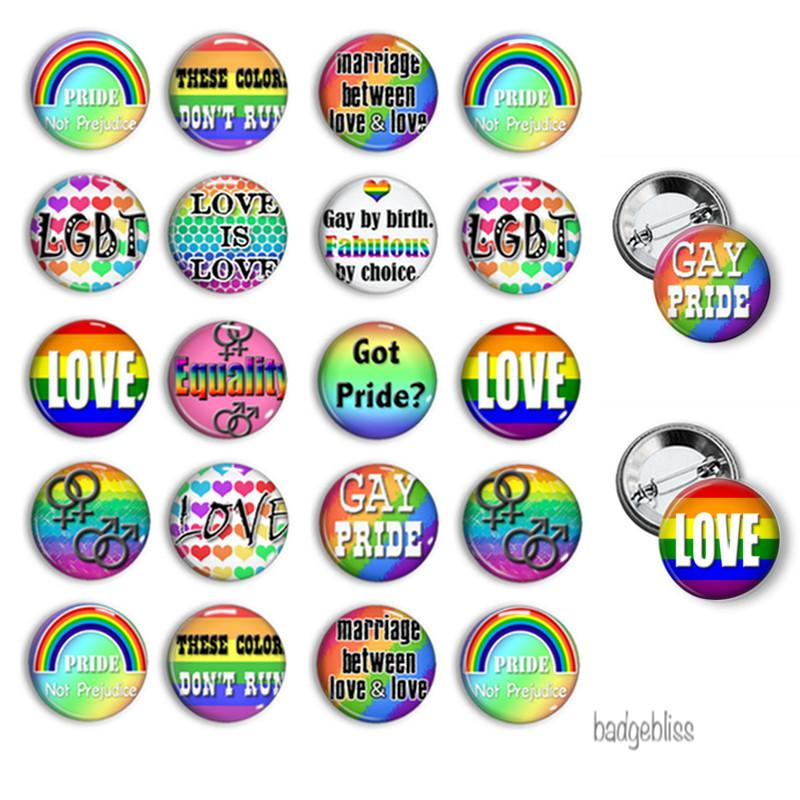 Button badges Gay Pride