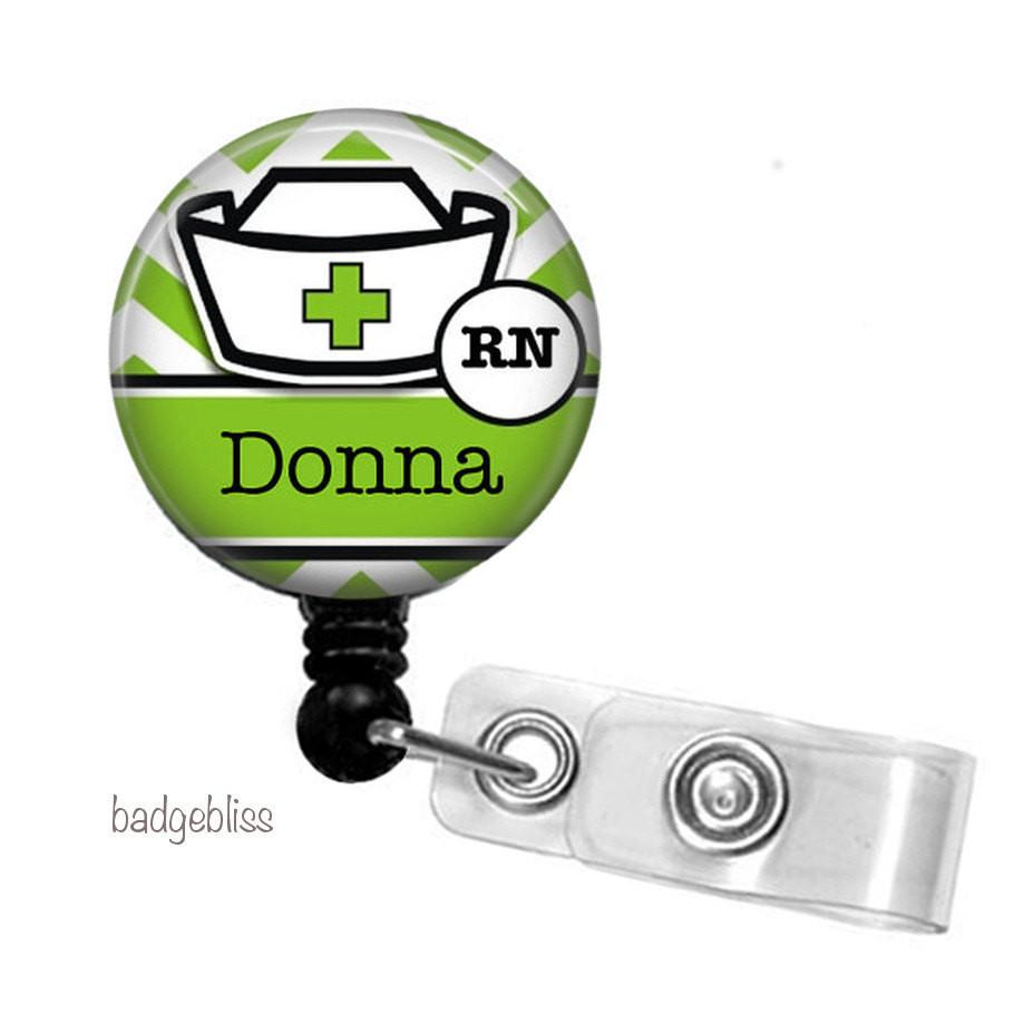 Badge Reel, Nurse badge reel - badge-bliss