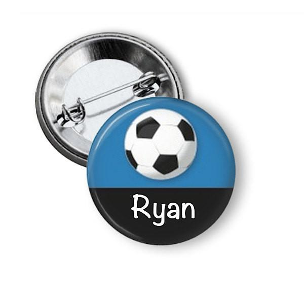 Football / soccer badge or fridge magnet