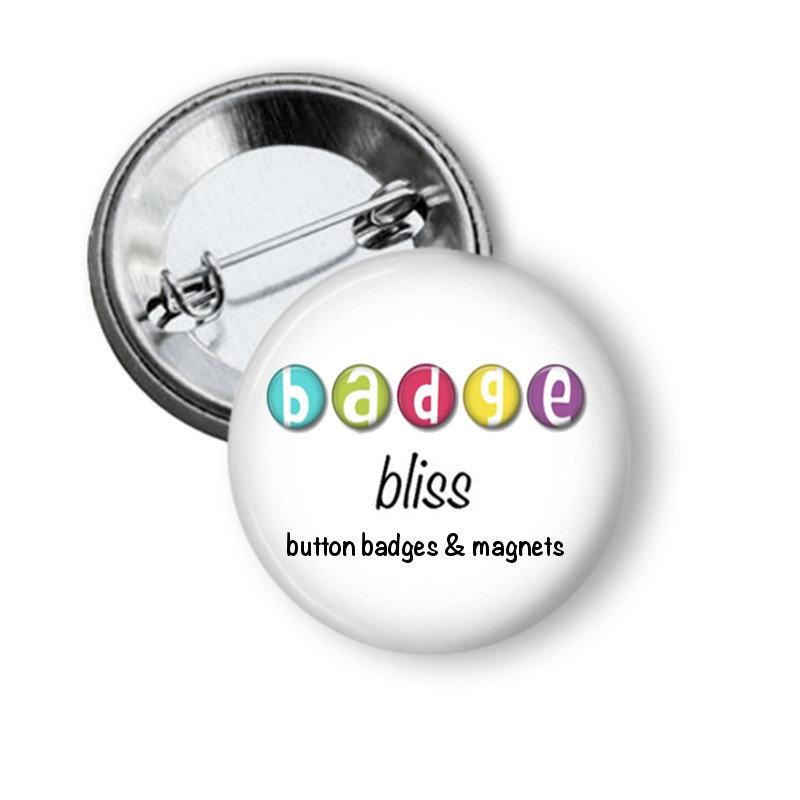 Sewing thread spool fridge magnets - Badge Bliss
