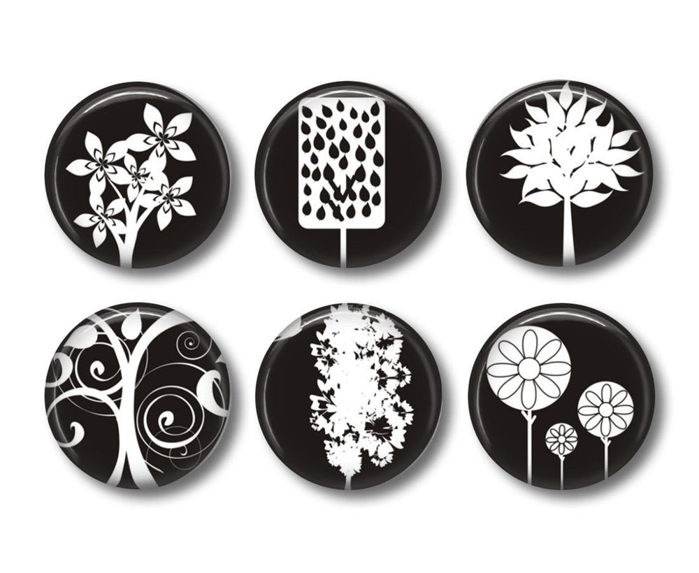 Tree badges or fridge magnets - Badge Bliss
