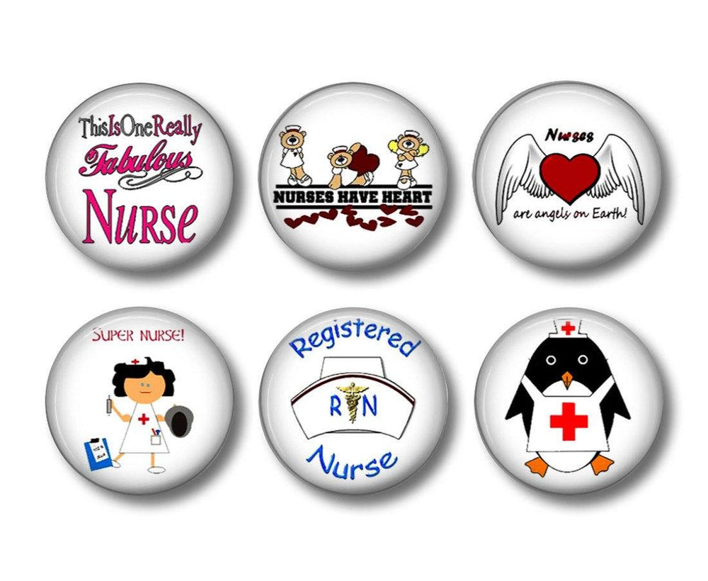 Nurse badges or fridge magnets - Badge Bliss