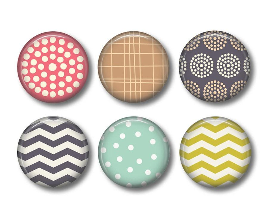Chevron  fridge magnets