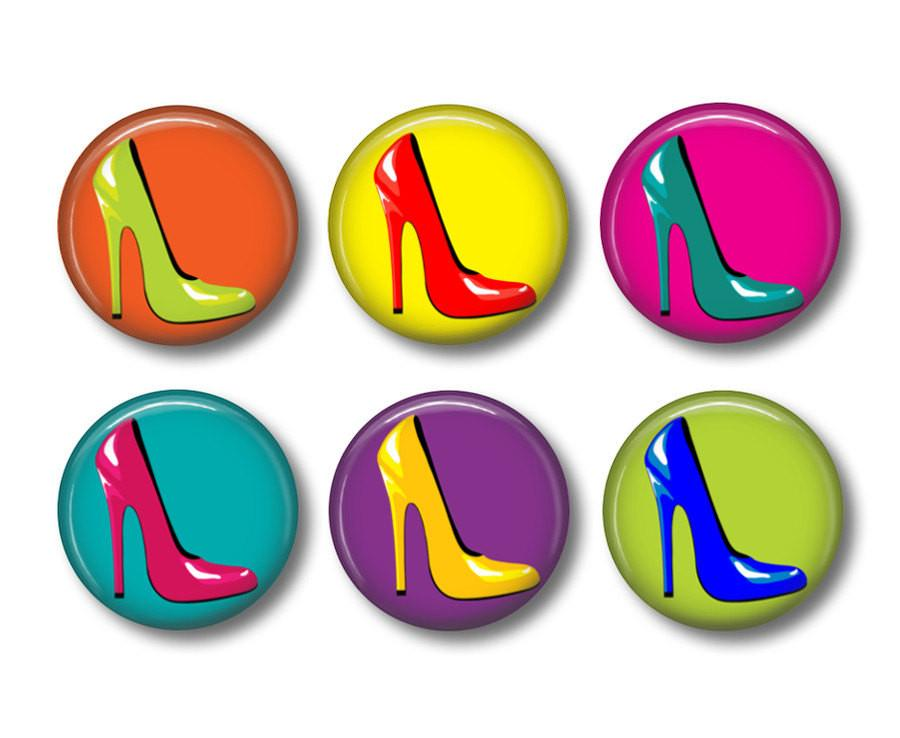 Shoe badges or fridge magnets - Badge Bliss