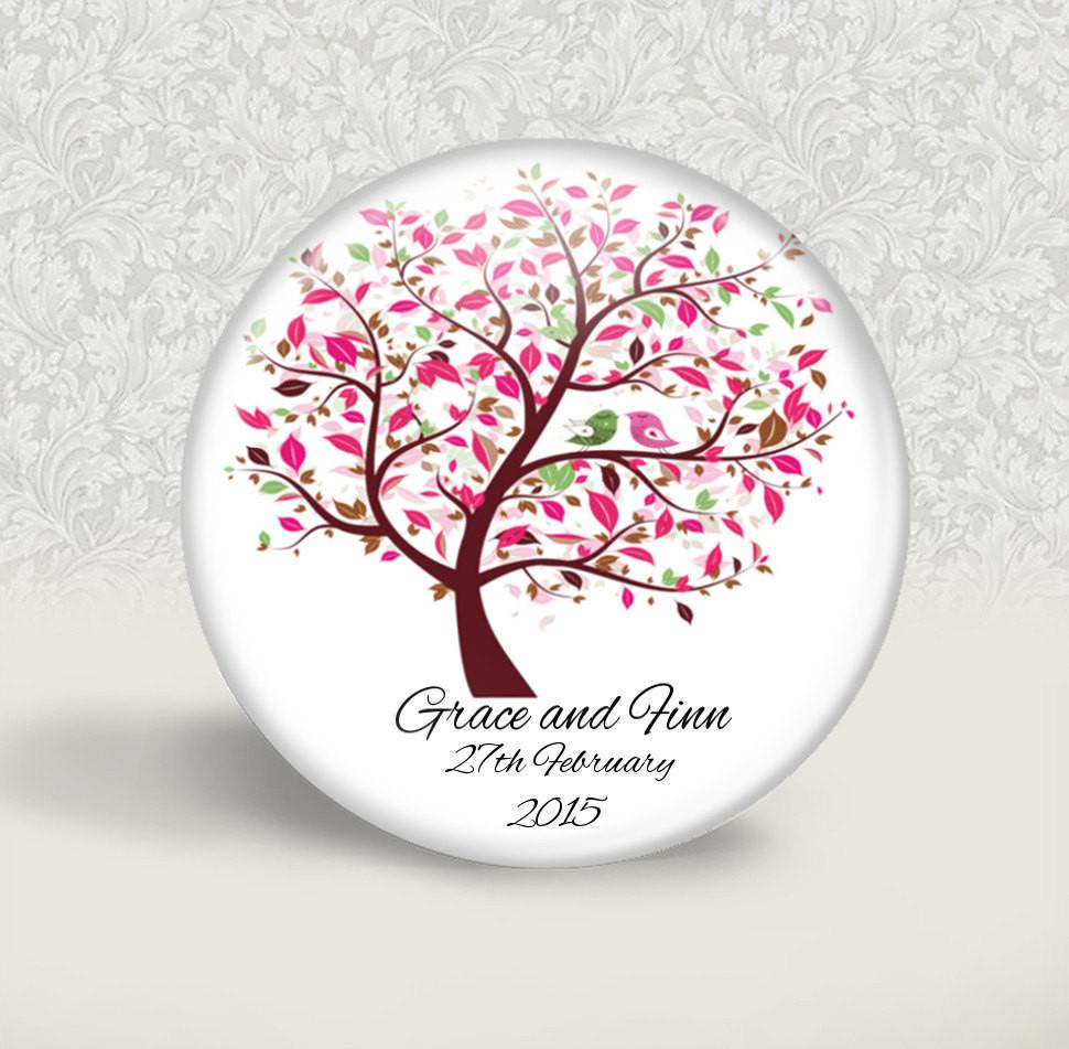 Wedding favour magnet