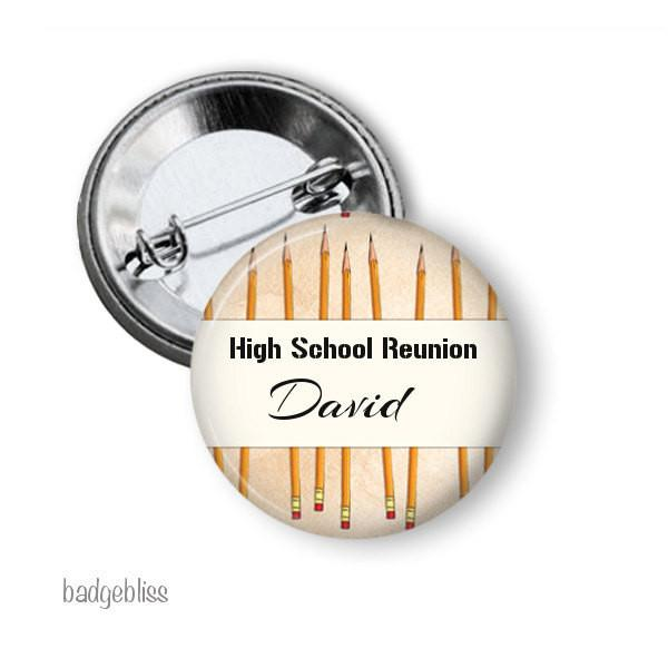 Pencil name badge or magnet