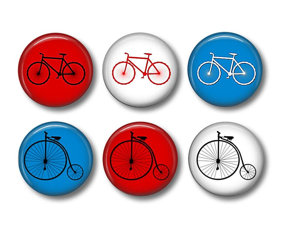 I Bike   fridge magnets