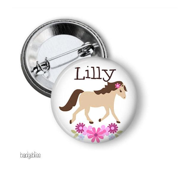 Pony badge or magnet