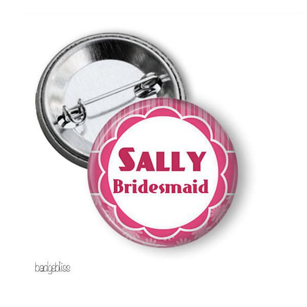 Hen party button badge
