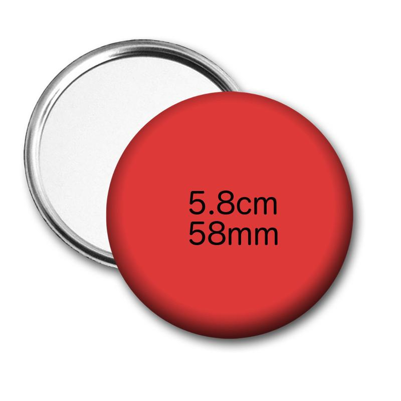 Custom pocket mirrors