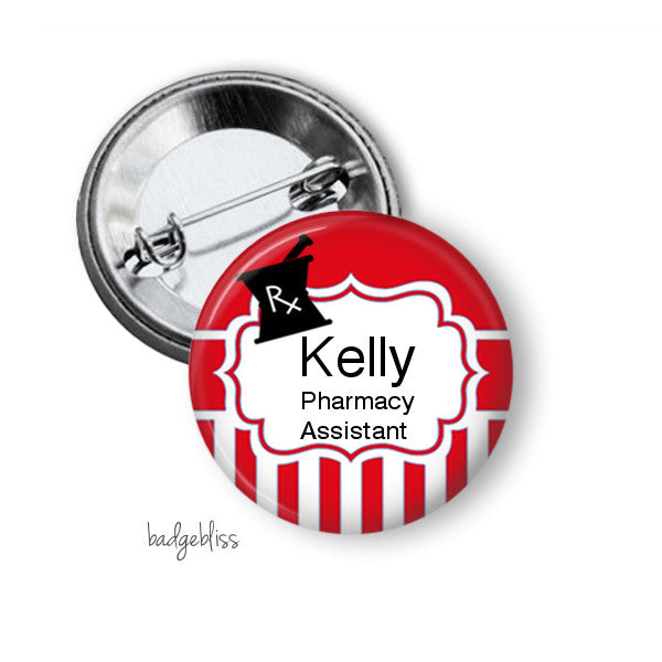 Pharmacy badge or fridge magnet - badge-bliss