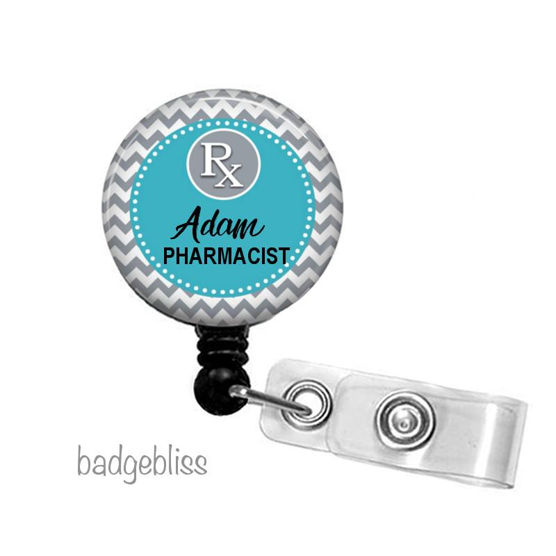 Pharmacy ID badge reel, ID holder