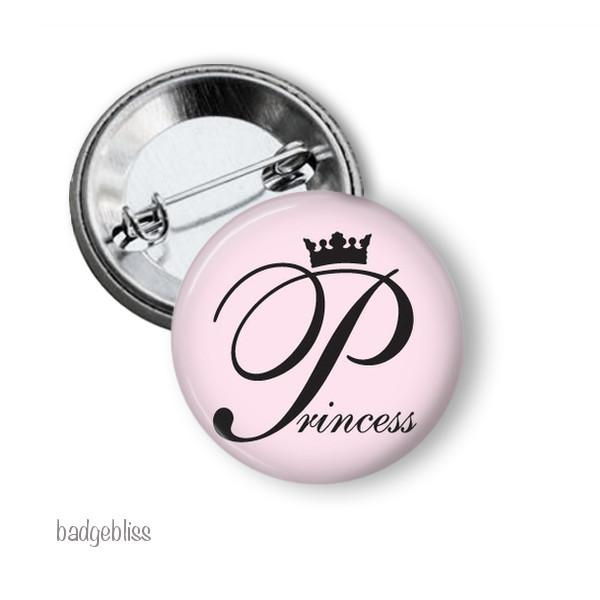 Princess badge, magnet - badge-bliss