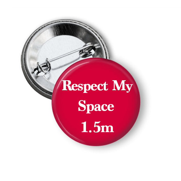 Respect My Space badge