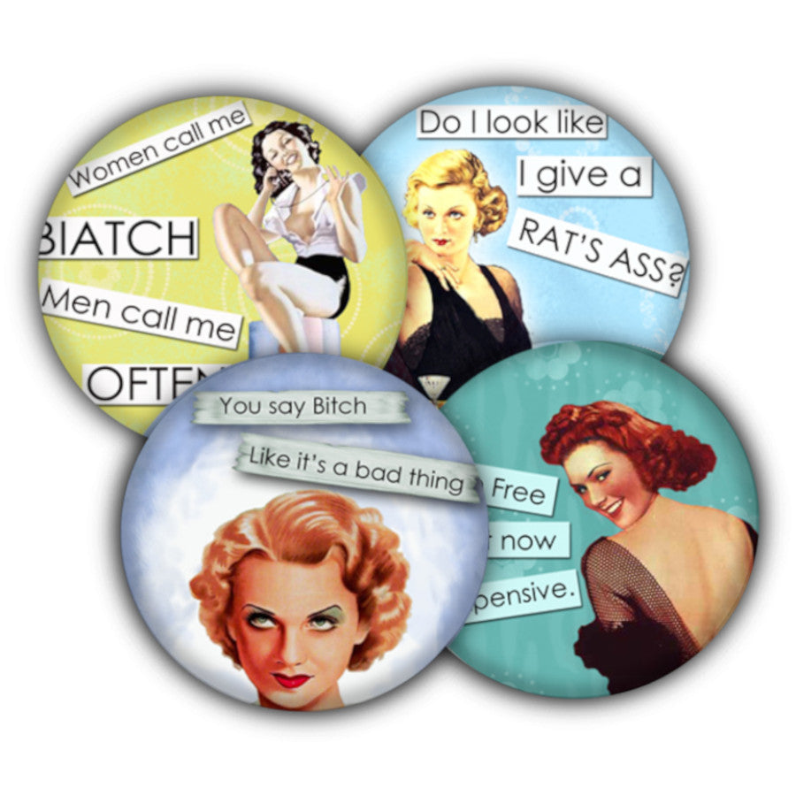 Sassy Women coaster set