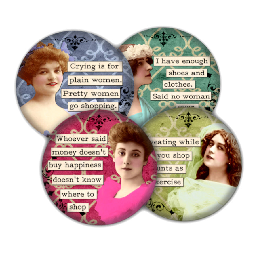 Shopping coaster set