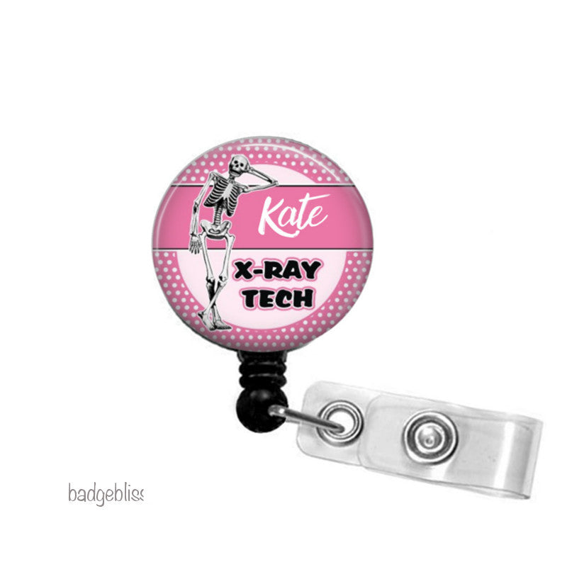 Xray Tech ID badge reel, ID holder