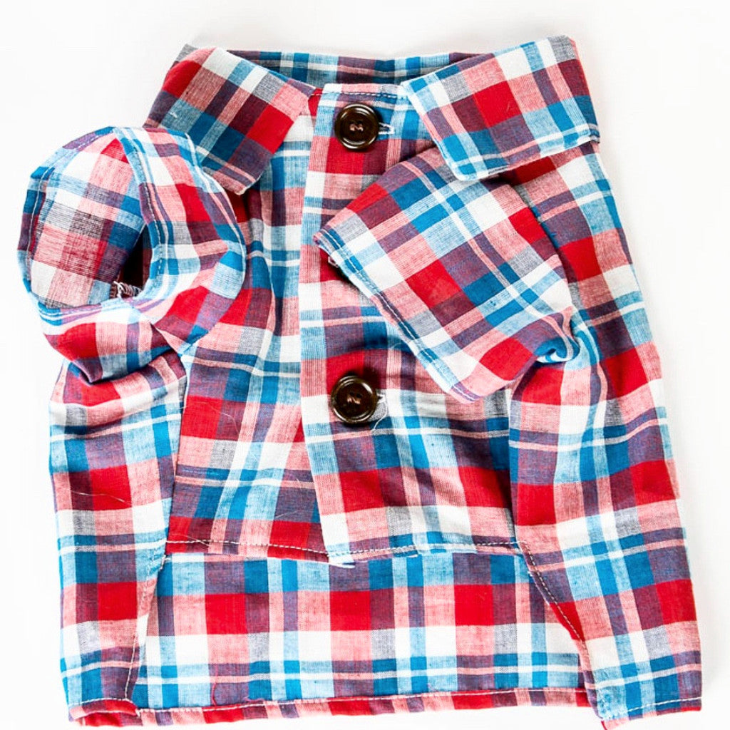 The Americana Plaid Shirt by Dot Threads